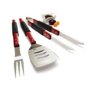 40110 SET POR 3 herramientas para parrilla